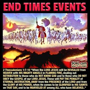 END TIMES EVENTS   SIGNS OF THE TIMES