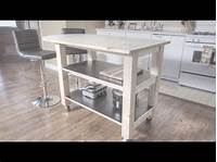how to build a kitchen island How to Build a Kitchen Island on Wheels - YouTube