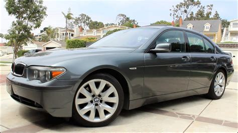 car manuals free online 2002 bmw 745 electronic toll collection 2004 bmw 745i review youtube
