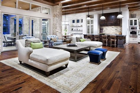 rustic home with modern design and luxury accents