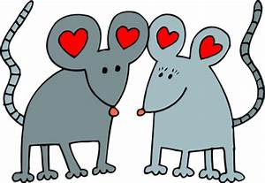 Free Mouse Love Clipart, 1 page of Public Domain Clip Art