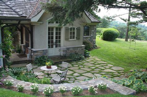 fieldstone patio fieldstone patio traditional patio new york by bedford stone masonry supply corp