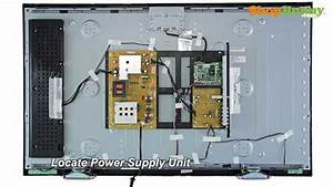 No Power On Sanyo Tv Model Dp42 Dp46 - Power Supply Replacement