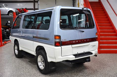 1991 mitsubishi delica l300 wagon turbodiesel 4x4 5 speed for sale on bat auctions sold