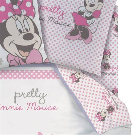 drap housse minnie 90 x 190 cm assorti 224 la housse de couette quot poetic flowers quot mickey
