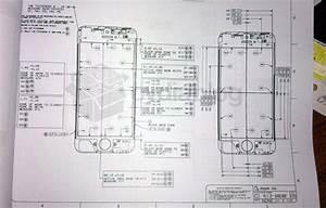 Iphone 5 Prototyp  Technische Zeichnung Zum Iphone 5