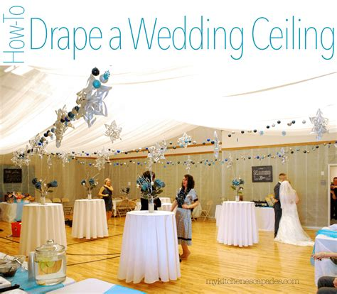 How To Hang Ceiling Drapes For A Wedding by Wedding Ceiling Draping Tutorial How To Measure And Hang
