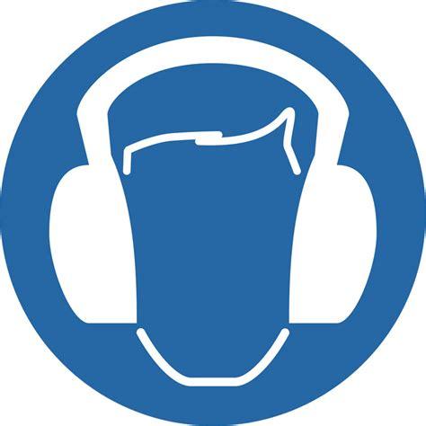 preproomorg mandatory signs wear ear defenders