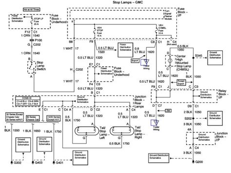 2000 silverado light wiring diagram diagram chart gallery