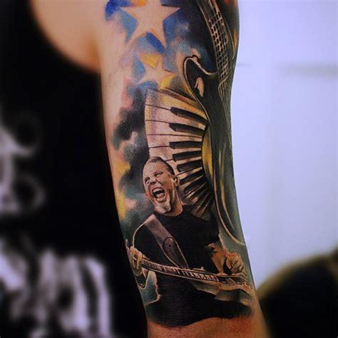 arm james hetfield tattoo  tattoo ideas gallery