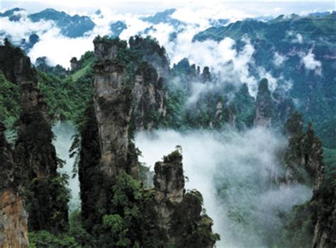 Wuling Backgrounds by The Wulingyuan Scenic Area