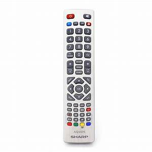Genuine Sharp Aquos Remote Control For Full Hd Smart Led