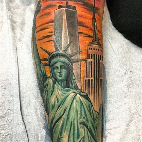 amazing  york city sleeve tattoo venice tattoo art