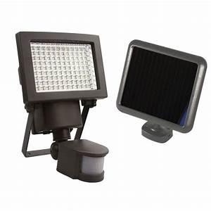 Projecteur à Détection : projecteur solaire d tection 108 leds 1000 lumens ~ Edinachiropracticcenter.com Idées de Décoration