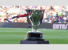 La Liga want to change ridiculous trophy handout time