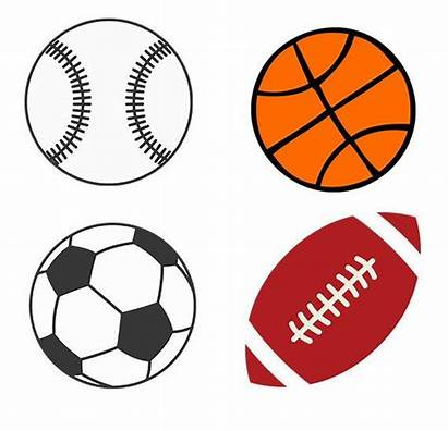 Svg Clipart Balls Basketball Baseball Football Soccer