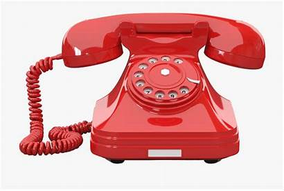 Phone Telephone Rotary Retro Transparent Cartoon Netclipart