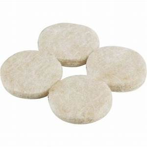 Shepherd 1 1 2 in heavy duty self adhesive felt pads 24 for Furniture leg pads home depot