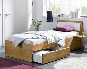 Einzelbett 100x200 Günstig Kaufen : einzelbett aus holz mit schubladen kaufen leova ~ Bigdaddyawards.com Haus und Dekorationen
