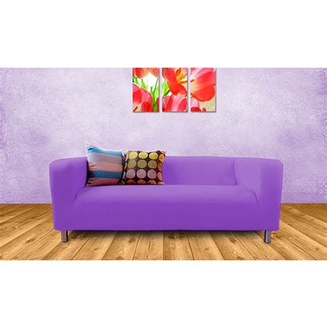 covers for settees purple cover slipcover to fit ikea klippan 2 or 4 seater