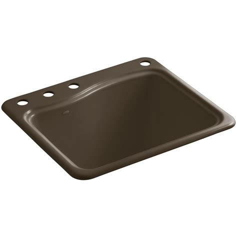 kohler brockway sink single kohler brockway wall mount cast iron 17 5 in 3
