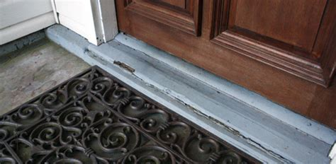 How to Replace a Rotten Entry Door Sill   Today's Homeowner