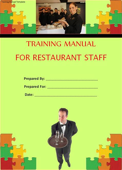 training manual template  word templates