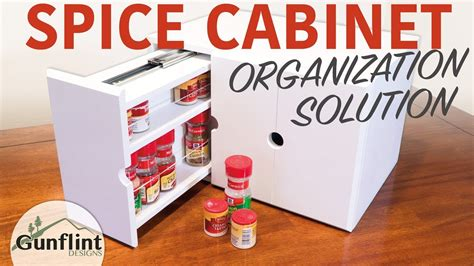 Diy Pull Out Spice Rack by Diy Spice Organizer Rack With Pull Out Drawers
