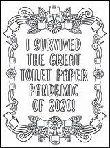 Coloring Pages Swear Printable Adults Adult Words Word Quotes Quarantine Sheets Pandemic Toilet Paper Books Quote Cuss Stress Relax Drawings sketch template
