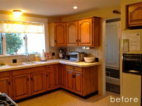 Before & After Sunny Kitchen Makeover  Design*sponge