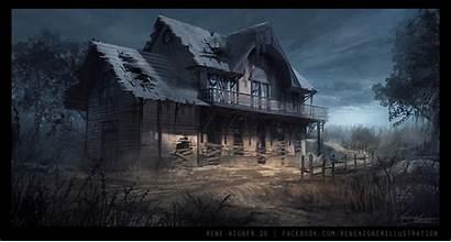 Safe Reneaigner Deviantart Apocalyptic Concept Fantasy Scenery