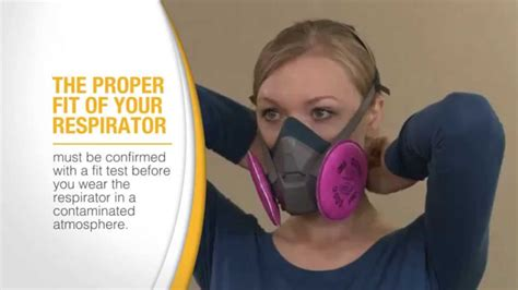 fit test  respirator  demo youtube