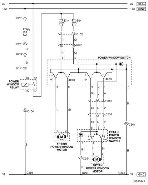 electrical wiring diagram 2005 nubira lacetti how to read electrical wiring diagram electrical wiring diagram 2005 nubira lacetti 23 power window circuit