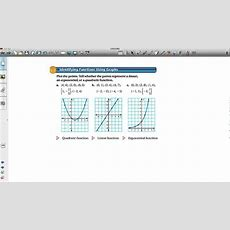 Comparing Linear, Exponential, And Quadratic Functions Youtube