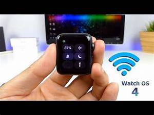 Apple Watch Wlan : how to connect to wifi on apple watch without iphone 2017 youtube ~ Orissabook.com Haus und Dekorationen