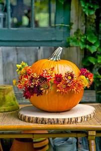 80 Beautiful Pumpkin Flower Pot Ideas