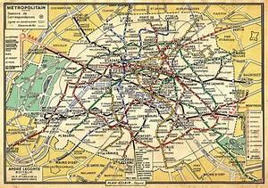 Plan Du Mtro De Paris 1971 Mga Flickr