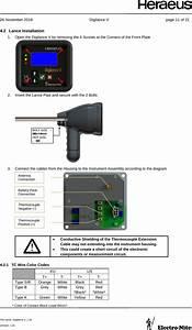 Heraeus Electro Nite Dl5w Digilance V User Manual Digilance V