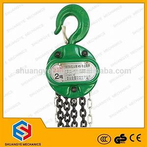 2t Manual  Hand Chain Pulley Block