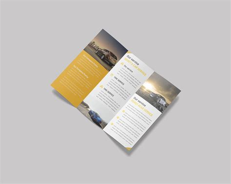 Trifold Template File free trifold brochure mockup psd template