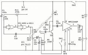 Analog Tremolo  Guitar  Sound Effect  U2013 Circuit Wiring Diagrams