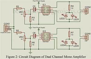 Stereo Amplifier Circuit Diagram