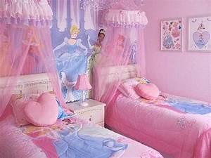 Disney princess bedroom 2 kids bedrooms and playroom for Disney princess decorations for bedroom