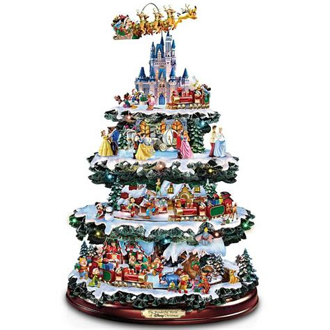 christmas tabletop musical rotating christmas tree decoration disney lighted musical tree tabletop sculpture decor new ebay
