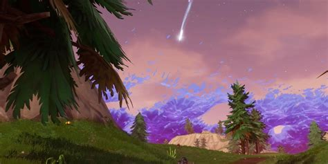 fortnite meteors  falling heres   means