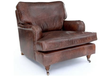 Vintage Leather Chair From Old Boot Sofas