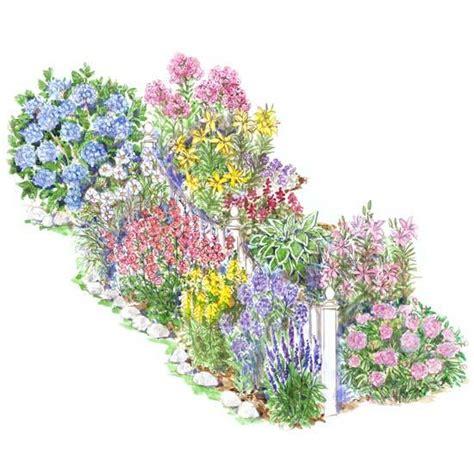 Englischer Garten Plan by Colorful Front Yard Garden Plans Better Homes Gardens