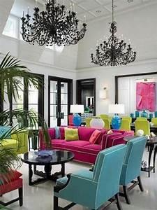 Deco Multicolore : d co maison multicolore exemples d 39 am nagements ~ Nature-et-papiers.com Idées de Décoration