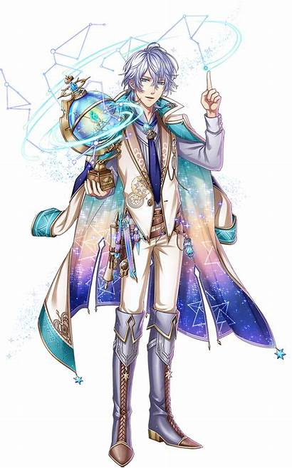 Anime Boy Wizard Prince Characters Ster Star