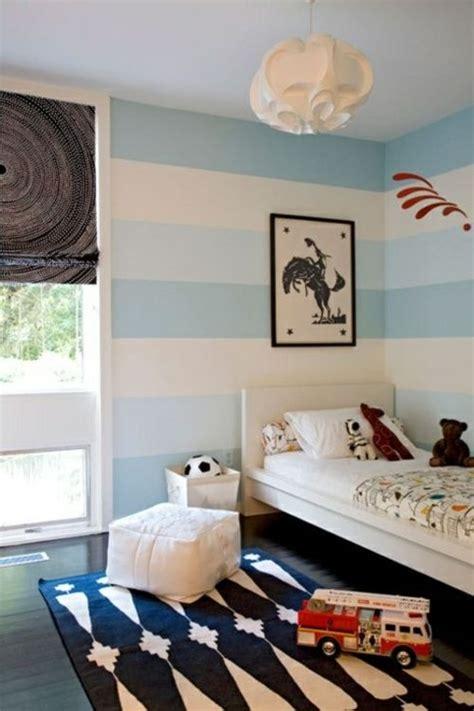 Verdunkelungsrollo Kinderzimmer Junge by Streifen Wand Streichen Deko Idee Wei 223 Junge